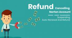 Refund: Cancelling Norton Account, Suspending Auto-Renewal And Refund