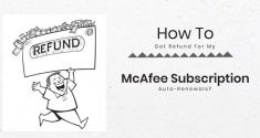 How To Get Refund For My McAfee Subscription Auto-Renewals?