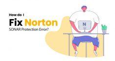 How do I Fix Norton SONAR Protection Error?